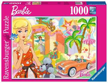 Vintage Barbie Jigsaw Puzzles;Adult Puzzles - image 1 - Ravensburger