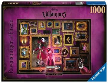 Puzzle 1000 p - Capitaine Crochet (Collection Disney Villainous) Puzzle;Puzzle adulte - Image 1 - Ravensburger