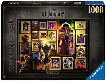 Puzzle 1000 p - Jafar (Collection Disney Villainous) Puzzle;Puzzle adulte - Image 1 - Ravensburger