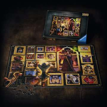 Puzzle 1000 p - Jafar (Collection Disney Villainous) Puzzle;Puzzle adulte - Image 4 - Ravensburger