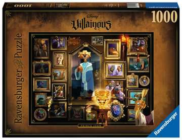 Puzzle 1000 p - Prince Jean (Collection Disney Villainous) Puzzle;Puzzles adultes - Image 1 - Ravensburger