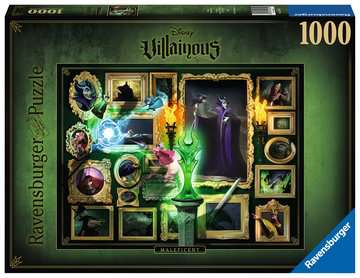Puzzle 1000 p - Maléfique (Collection Disney Villainous) Puzzle;Puzzle adulte - Image 1 - Ravensburger