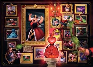 Puzzle 1000 p - La Reine de cœur (Collection Disney Villainous) Puzzle;Puzzle adulte - Image 2 - Ravensburger