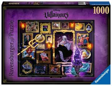 Puzzle 1000 p - Ursula (Collection Disney Villainous) Puzzle;Puzzle adulte - Image 1 - Ravensburger