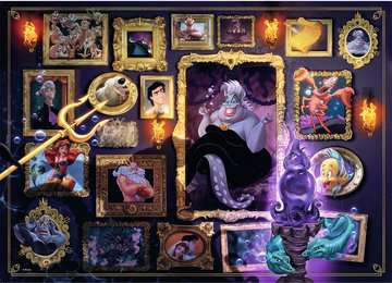 Puzzle 1000 p - Ursula (Collection Disney Villainous) Puzzle;Puzzle adulte - Image 2 - Ravensburger