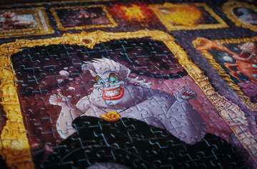 Puzzle 1000 p - Ursula (Collection Disney Villainous) Puzzle;Puzzle adulte - Image 5 - Ravensburger
