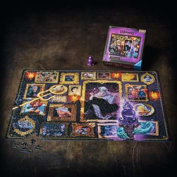 Puzzle 1000 p - Ursula (Collection Disney Villainous) Puzzle;Puzzle adulte - Image 7 - Ravensburger