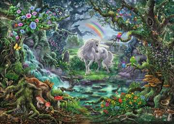 Escape Puzzle 759pc Unicorns Puzzles;Adult Puzzles - image 2 - Ravensburger