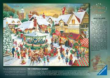 Christmas Collection No.1, Christmas Market & Santa s Christmas Supper 2x500pc Puzzles;Adult Puzzles - image 5 - Ravensburger