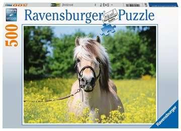 15038 Erwachsenenpuzzle Pferd im Rapsfeld von Ravensburger 1
