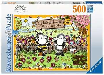 15044 Erwachsenenpuzzle Bienenliebe von Ravensburger 1