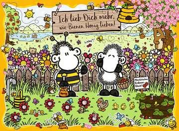 15044 Erwachsenenpuzzle Bienenliebe von Ravensburger 2