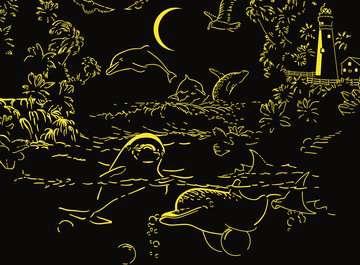 Puzzle 500 p Star Line - La magie du clair de lune Puzzle;Puzzle adulte - Image 3 - Ravensburger