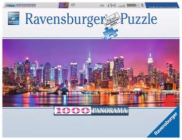Manhattan Lights Jigsaw Puzzles;Adult Puzzles - image 1 - Ravensburger