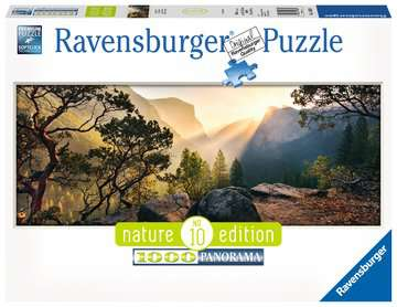 Yosemite Park Panoramic, 1000pc Puzzles;Adult Puzzles - image 1 - Ravensburger