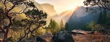 Yosemite Park Panoramic, 1000pc Puzzles;Adult Puzzles - image 2 - Ravensburger