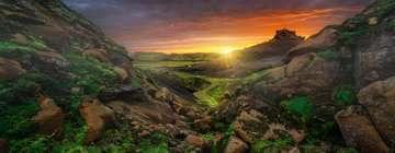 15094 Erwachsenenpuzzle Sonne über Island von Ravensburger 2