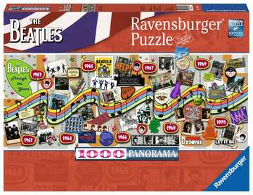 Beatles Through the Years Jigsaw Puzzles;Adult Puzzles - image 1 - Ravensburger