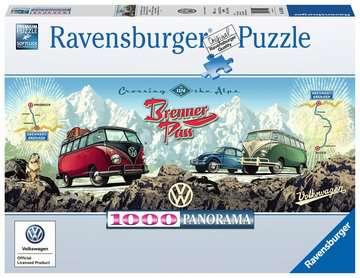 Mit dem VW Bulli über den Brenner Puzzle;Erwachsenenpuzzle - Bild 1 - Ravensburger