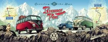 Mit dem VW Bulli über den Brenner Puzzle;Erwachsenenpuzzle - Bild 2 - Ravensburger