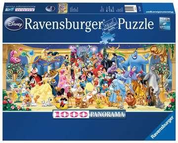 15109 Erwachsenenpuzzle Disney Gruppenfoto von Ravensburger 1