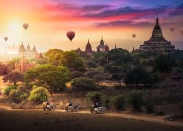 Heteluchtballonnen boven Myanmar Puzzels;Puzzels voor volwassenen - image 2 - Ravensburger