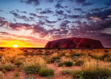 Ayers Rock, Australia, 1000pc Puzzles;Adult Puzzles - image 2 - Ravensburger