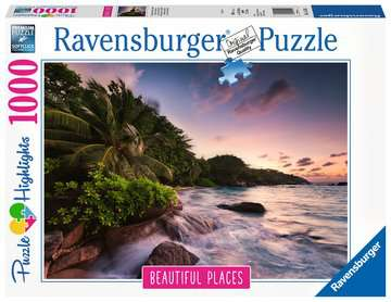 Praslin Island, Seychelles1000p Puslespil;Puslespil for voksne - Billede 1 - Ravensburger