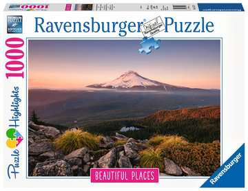 Stratovulkan Mount Hood in Oregon, USA, 1000 dílků. Puzzle;Erwachsenenpuzzle - Bild 1 - Ravensburger