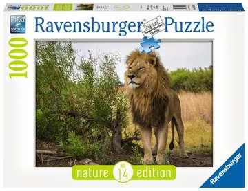 15160 Erwachsenenpuzzle Stolzer Löwe von Ravensburger 1