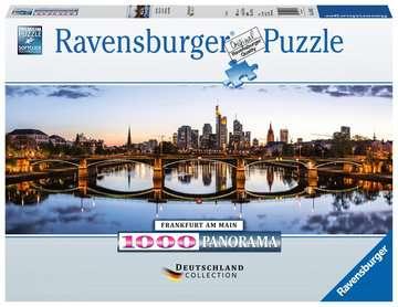 Frankfurt Ravensburger Puzzle  1000 pz - Foto & Paesaggi Puzzle;Puzzle da Adulti - immagine 1 - Ravensburger