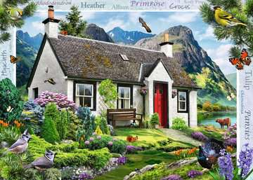 Country Cottage Collection - Lochside Cottage, 1000pc Puzzles;Adult Puzzles - image 2 - Ravensburger