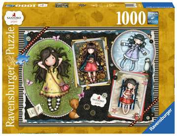 Puzzle 1000 p - Four Gorjuss Seasons Puzzle;Puzzle adulte - Image 1 - Ravensburger