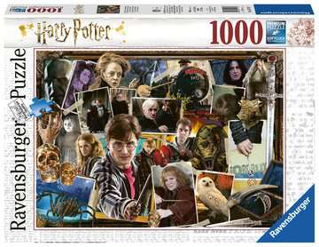 Harry Potter, 1000pc Puzzles;Adult Puzzles - image 1 - Ravensburger
