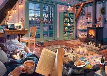 My Haven No.6, The Cosy Shed, 1000pc Puzzles;Adult Puzzles - image 2 - Ravensburger