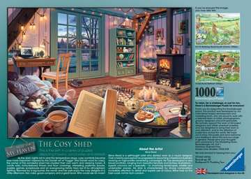 My Haven No.6, The Cosy Shed, 1000pc Puzzles;Adult Puzzles - image 3 - Ravensburger