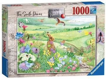 Walking World - South Downs, 1000pc Puzzles;Adult Puzzles - image 1 - Ravensburger