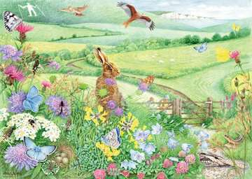 Walking World - South Downs, 1000pc Puzzles;Adult Puzzles - image 2 - Ravensburger
