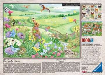Walking World - South Downs, 1000pc Puzzles;Adult Puzzles - image 3 - Ravensburger