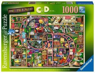 Colin Thompson - Awesome Alphabet  C&D , 1000pc Puslespil;Puslespil for voksne - Billede 1 - Ravensburger