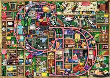 Colin Thompson - Awesome Alphabet  C&D , 1000pc Puzzles;Adult Puzzles - image 2 - Ravensburger