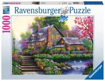 15184 Erwachsenenpuzzle Romantisches Cottage von Ravensburger 1
