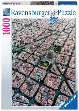 Barcelona from above, 1000pc Puzzles;Adult Puzzles - image 1 - Ravensburger