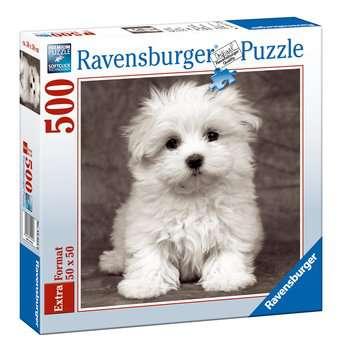 Cachorro maltés Puzzles;Puzzle Adultos - imagen 1 - Ravensburger