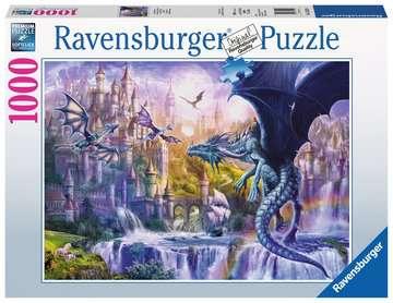 Puzzle 1000 p - Le château des dragons Puzzle;Puzzle adulte - Image 1 - Ravensburger