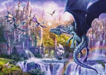 Puzzle 1000 p - Le château des dragons Puzzle;Puzzle adulte - Image 2 - Ravensburger