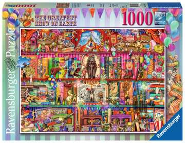 The Greatest Show on Earth Jigsaw Puzzles;Adult Puzzles - image 1 - Ravensburger