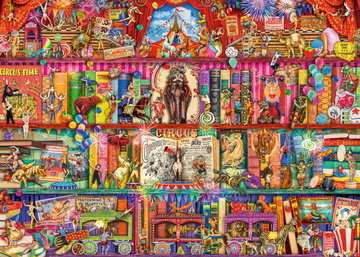 The Greatest Show on Earth, 1000pc Puzzles;Adult Puzzles - image 2 - Ravensburger