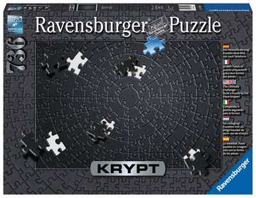 15260 Erwachsenenpuzzle Krypt Black von Ravensburger 1