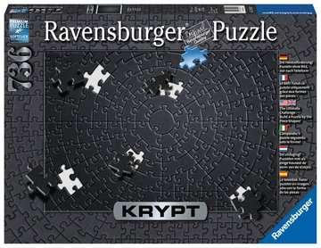 Krypt Black Jigsaw Puzzles;Adult Puzzles - image 1 - Ravensburger